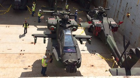 AH-64E Guardian TNI AD dikirim ke Indonesia (29-03) (Instagram Skuadron 11 Penerbad) 1E