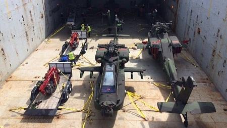 AH-64E Guardian TNI AD dikirim ke Indonesia (29-03) (Instagram Skuadron 11 Penerbad) 2E