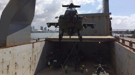 AH-64E Guardian TNI AD dikirim ke Indonesia (29-03) (Instagram Skuadron 11 Penerbad) 3E