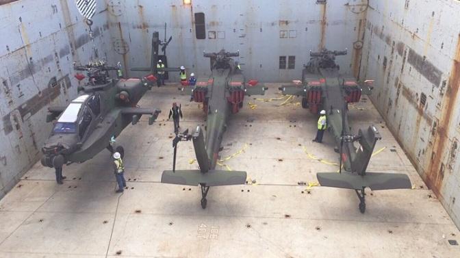 Lima Unit AH-64E Guardian TNI AD dikirim ke Indonesia (Photo)