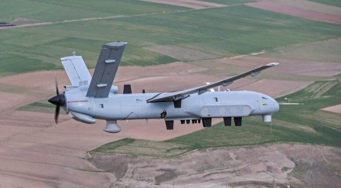 Turki Gunakan UAV Anka I untuk Misi SIGINT dan COMINT di Suriah