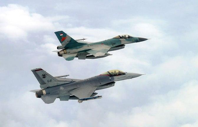 Ekspedisi Laut Jawa Antara Indonesia dan Singapura Libatkan Pesawat Tempur