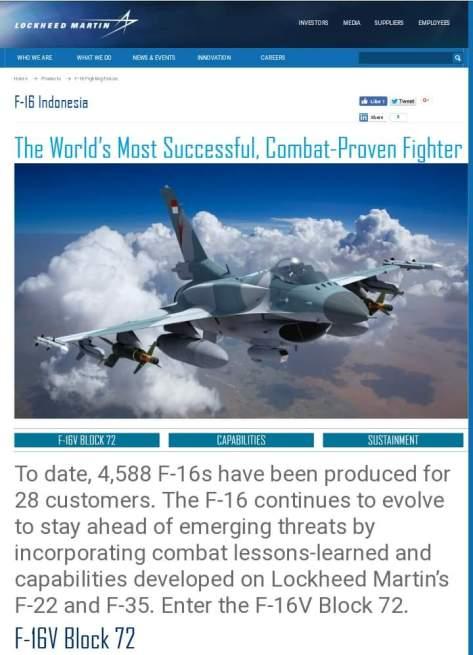 F-16V Block 72 IDAF (LM)