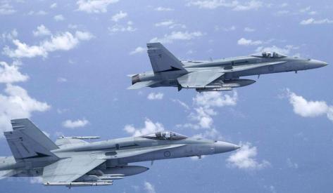 F- A-18 Hornet Australia