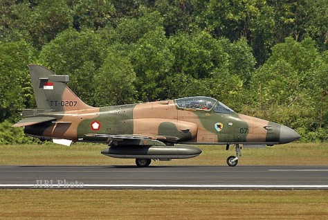 Hawk 200 TNI AU (Jibi Photo)