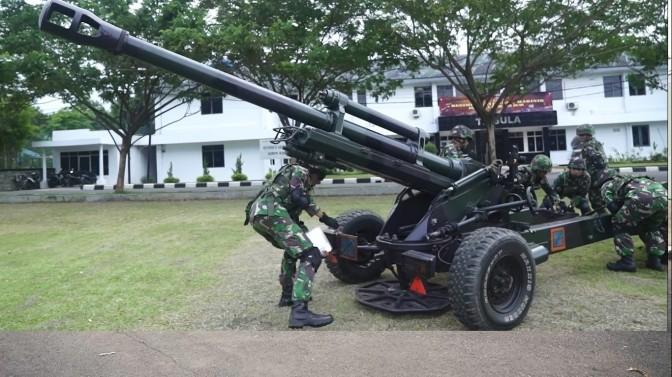 Meriam 76 MM Akan Diganti dengan Meriam 105/LG1 buatan Perancis