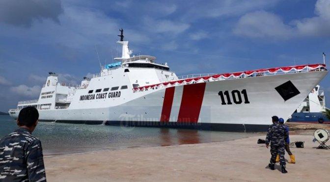 Pelayaran Perdana KN Tanjung Datu 1101