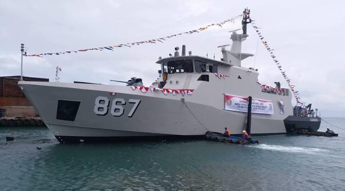 TNI AL Meluncurkan PC-40 Ketujuh