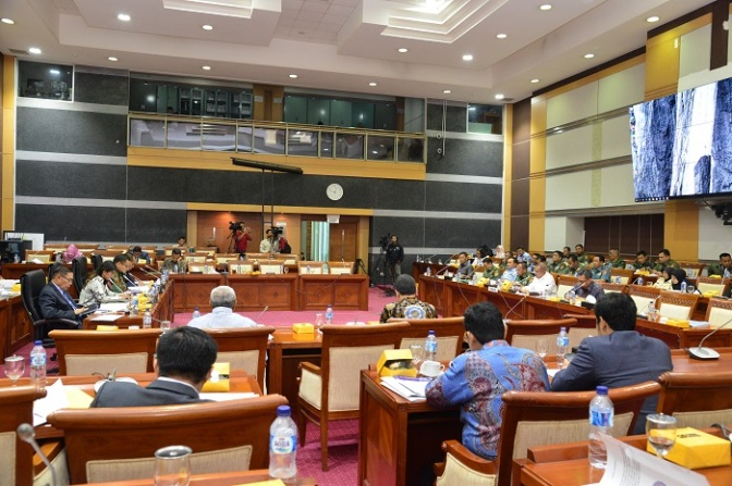 Pengesahan Persetujuan RUU Kerja Sama di Bidang Pertahanan dengan Thailand