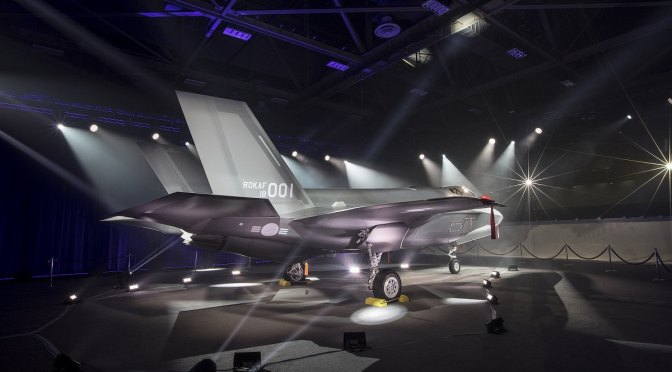 Debut Publik Jet Tempur F-35A Korea Selatan
