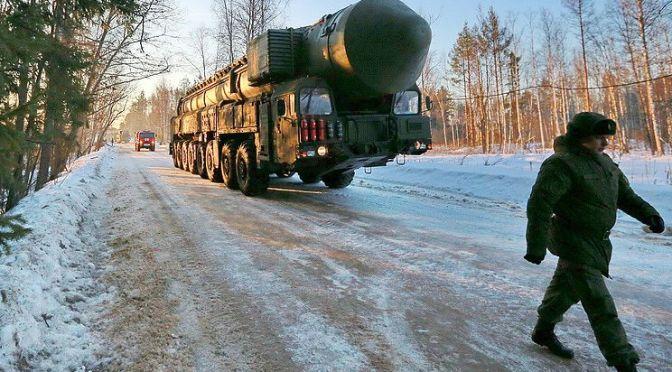 Militer Rusia Tes ICBM Yars Terbaru