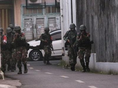 Yonif Mekanis Raider 411 Kostrad Gelar Latihan Pertempuran Kota