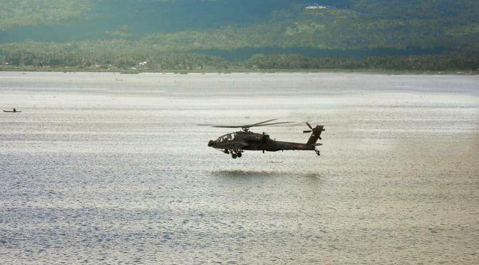 Uji Coba AH-64E Apache Guardian Penerbad (Photo)