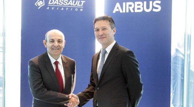 Airbus dan Dassault Bergabung Kembangkan Jet Tempur Baru Eropa