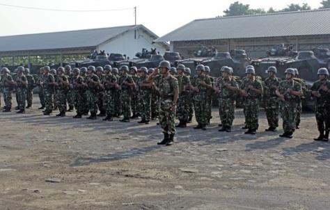 Batalyon Ranratfib-1 Marinir Gelar PPRC