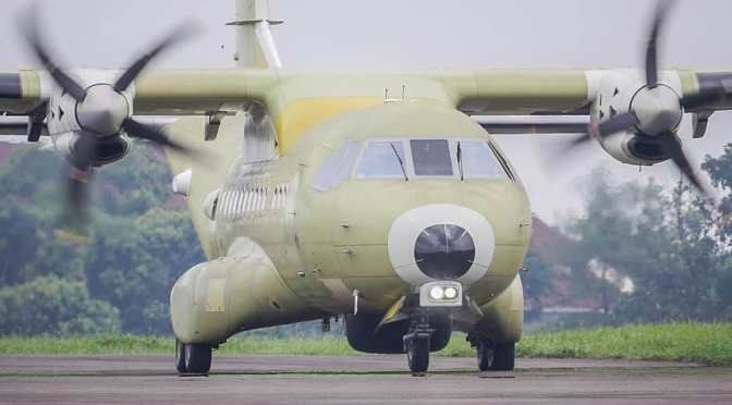 First Flight CN235-220 MPA for Indonesian Navy (Photo)