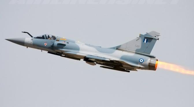 Pilot Yunani Tewas dalam Misi Pencegatan Jet Tempur Turki