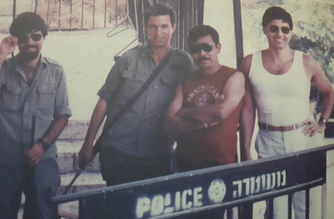 Djoko Poerwoko saat kembali ditugaskan ke Israel pada 1988.