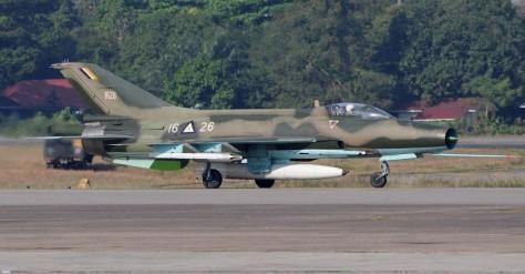F-7 Myanmar (Airliners.net)