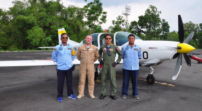 Enam Unit Grob Pesanan TNI AU Telah Tiba di Indonesia