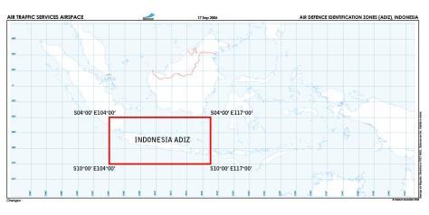 Indonesia ADIZ