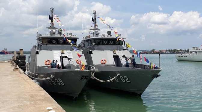 KAL Pulau Menjangan dan KAL Pulau Pasoso Perkuat TNI AL