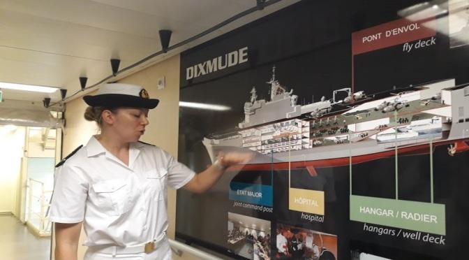 Mengintip Kapal Perang Dixmude Milik AL Prancis