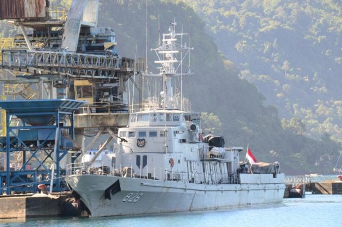 KRI Kelabang-826 Laksanakan Operasi Laut Wilayah Sumatera Barat