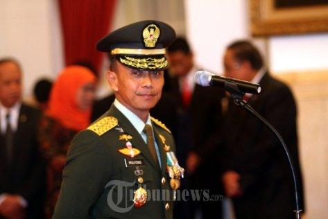 KSAD Jenderal TNI Mulyono