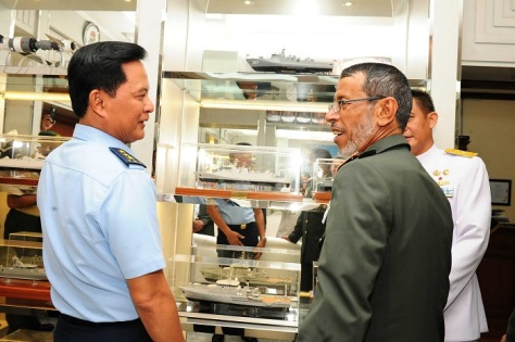 Kunjungan Kepala Staf GAB AB Uni Emirat Arab