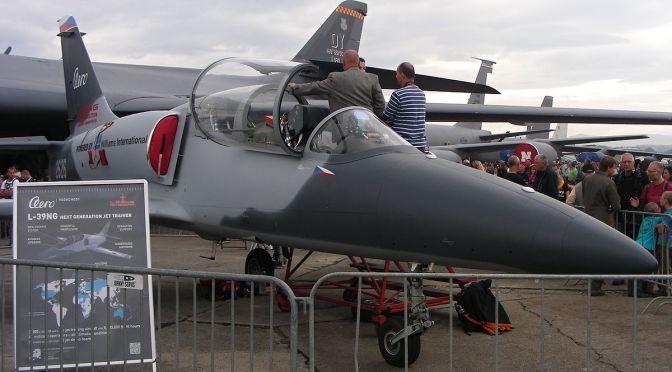 Aero Vodochody Jual Pesawat Latih L-39NG ke Senegal