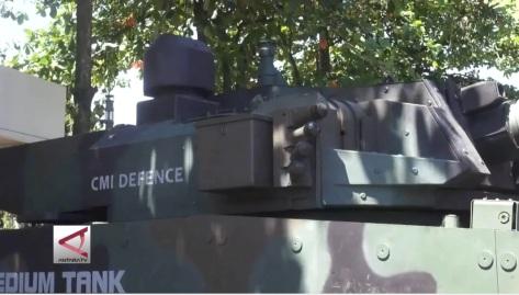 Medium Tank PT Pindad (3004) 2