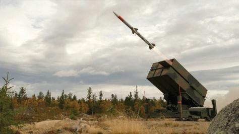 NASAMS air defense missile used AMRAAM missile (Kongsberg)