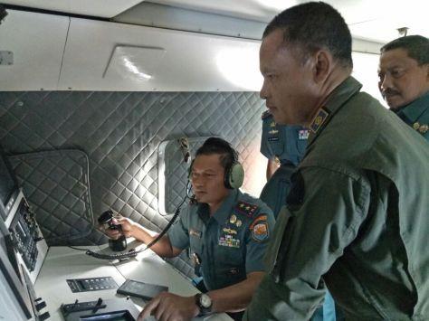 Pangarmabar Pimpin Langsung Patroli Udara di Selat Malaka