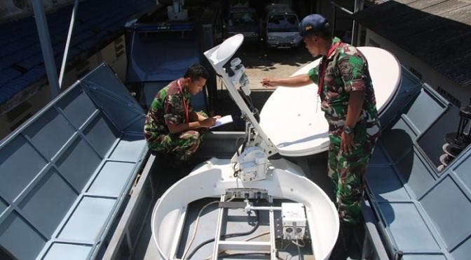 Pelatihan Operator dan Teknisi Mobile Radio dan Vsat System Koarmatim