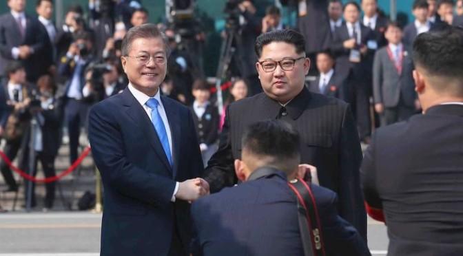 Pemimpin Korea Utara dan Korea Selatan Bertemu di Wilayah Demiliterasi