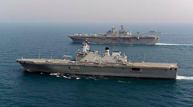 Dankormar Saksikan Ssang Yong '18, Tour ke USS Wasp dan ROKS Dokdo Serta Kunjungi KAAV Battalion