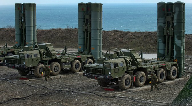 S-400 Triumf Dikirim ke China
