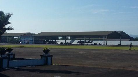 Sukhoi 27 30 MK saat menjalani latihan sriti gesit 2018 di Lanud Sultan Hasanuddin (djournalist)