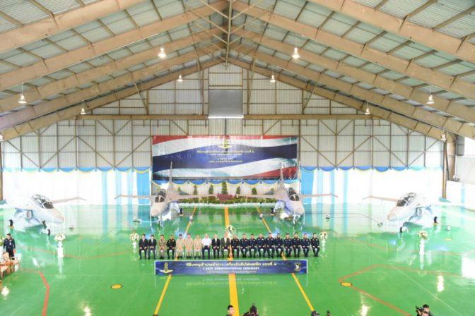 Thailand Resmi Operasikan Jet Latih T-50 Golden Eagle