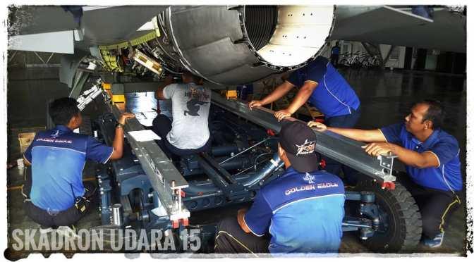 Team Pemeliharaan Skadron Udara 15 (Photo)