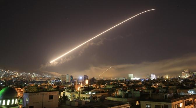 Rusia : Suriah Cegat 71 dari 103 Rudal yang Ditembakan AS dan Sekutunya