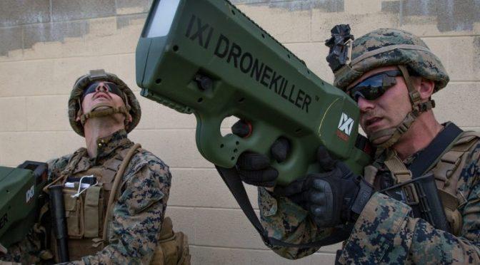 Marinir Amerika Serikat Uji Senjata Pembunuh Drone