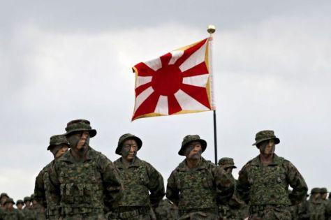 Unit Marinir Jepang Diaktifkan untuk Pertama Kali Sejak PD II (Reuters)