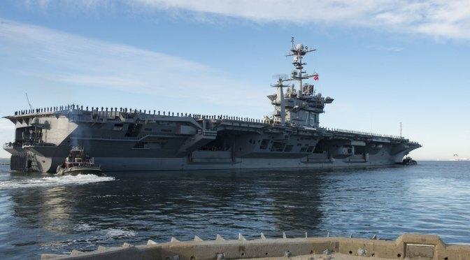 USS Harry S. Truman dan Tujuh Kapal Perang Mulai Bergerak ke Timur Tengah