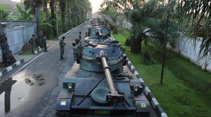 "Yonkav-6/ NK Gelar Kesiapan Satuan ""Armor Day"""