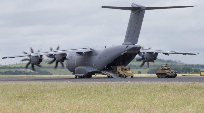 A400M Akan Digunakan Untuk Mengangkut Sembako