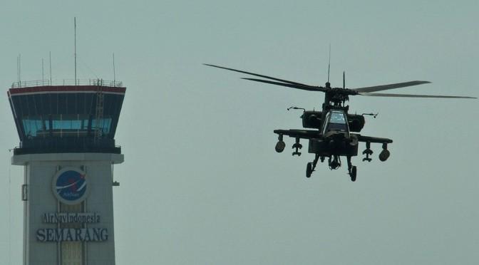 TNI AD Terima Delapan Unit Helikopter AH-64E Apache (Photo)