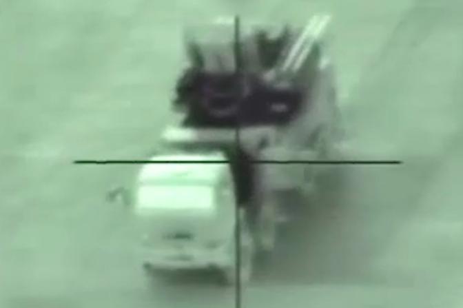 IDF Hancurkan Sistem Pertahanan Udara Pantsir-S1 di Suriah