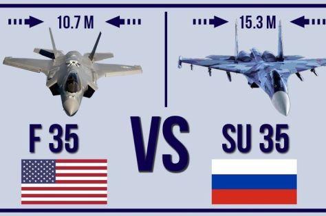 F-35 VS Su-35